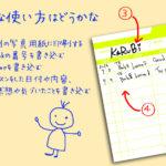 【オリジナルデータ】レッスン記録カード(Lime)