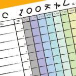 【オリジナルデータ】TAC100チャレシート